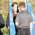 Kate Middleton, enceinte de son deuxième enfant, visitait le 12 novembre 2014 le  GSK Human Performance Lab à Brentford (ouest de Londres) dans le cadre de son patronage de SportsAid.
