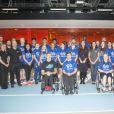 Kate Middleton, enceinte, visitait le 12 novembre 2014 le   GSK Human Performance Lab à Brentford (ouest de Londres) dans le cadre de son patronage de SportsAid.