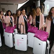 Miss France 2015 : Souriantes et excitées, les 33 Miss en route pour le soleil !