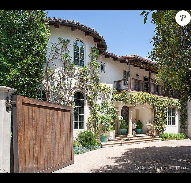 La propriété de Reese Witherspoon à Brentwood, vendue 10,068 millions de dollars.