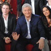 Patrick Sébastien : Papa anxieux et fier avec Olivier, Benjamin et Lily