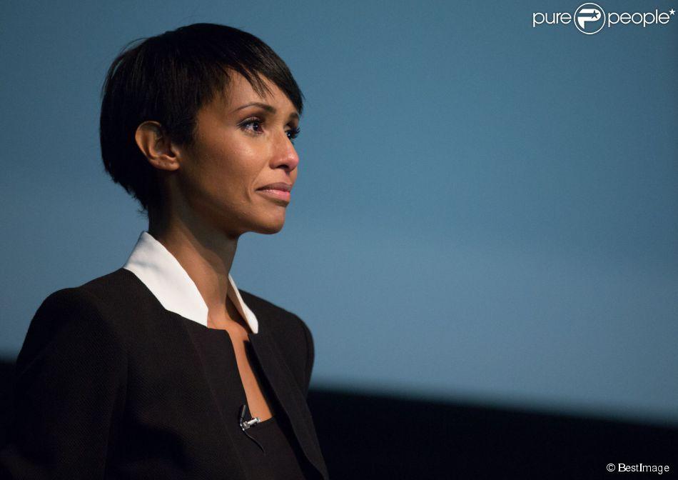 """Exclusif - Projection du premier documentaire de Sonia Rolland """"Rwanda, du chaos au miracle"""" au musée Dapper à Paris le 29 octobre 2014."""