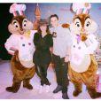 Alizée et Grégoire Lyonnet à Disneyland le 16 novembre 2014.