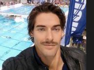 Camille Lacourt ose la moustache : Nouveau look pour son grand retour