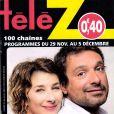 Magazine Télé Z, en kiosques le lundi 24 novembre 2014.