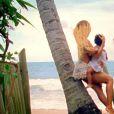 """Beyoncé avec sa fille Blue Ivy, dans le clip de """"Blue, feat. Blue Ivy"""", dévoilé le 24 novembre 2014."""