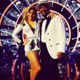 Alfonso Ribeiro et sa partenaire dans Dancing with the Stars, le 25 novembre 2014