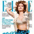Laetitia Casta en couverture de ELLE Pologne du mois de mai