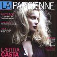 Laetitia Casta en couverture de La Parisienne