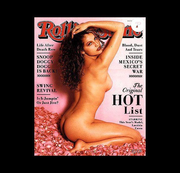 20 ans, et Laetitia Casta n'a pas peur de poser nue. La voici très sexy pour le Rolling Stone d'août 1998.