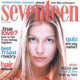 A 17 ans, Laetitia Casta réalisait ses premières couv'. La voici pour Seventeen en avril 1996.