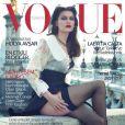 Laetitia Casta en couverture du Vogue turc, octobre 2012.