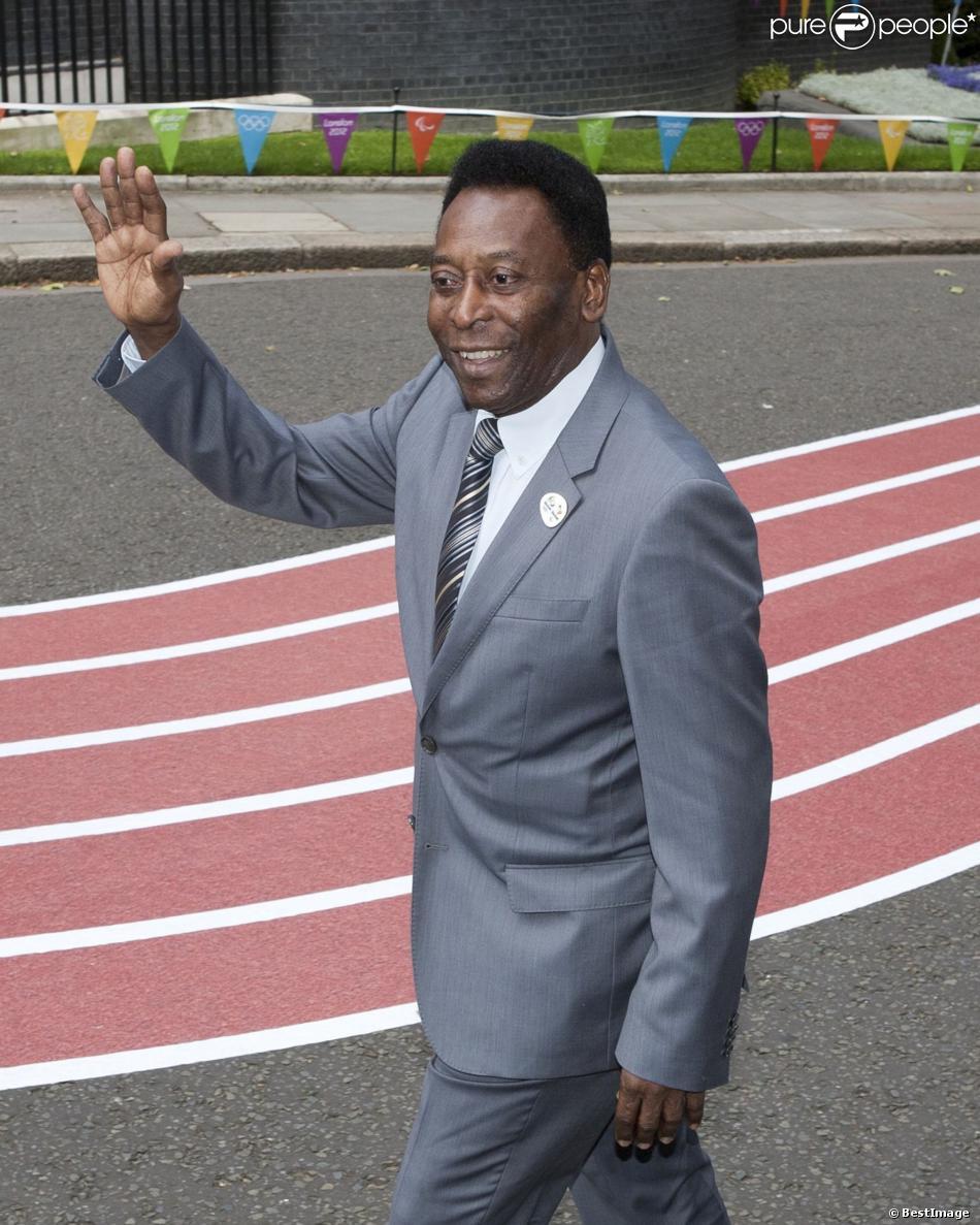 Pelé à Londres le 12 août 2012.