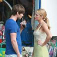 Chace Crawford et Blake LAvely dans Gossip Girl