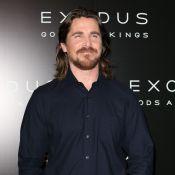 Christian Bale : Barbu et chevelu pour défendre le controversé ''Exodus''