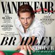 Bradley Cooper en couverture du numéro de janvier de Vanity Fair.