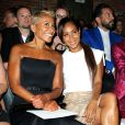 Adrienne Banfield-Jones et sa fille Jada Pinkett Smith à New York le 5 septembre 2014.