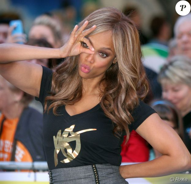 Tyra Banks à New York, le 6 october 2014.