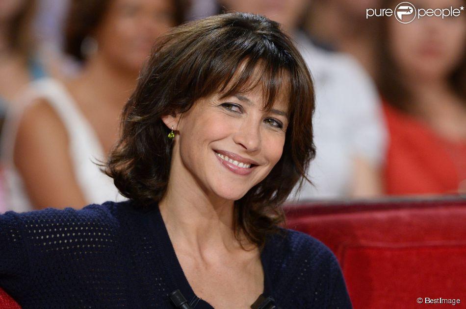 Sophie Marceau à Paris le 17 septembre 2014.