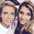 Selfie de Camille Cerf et Sylvie Tellier. Décembre 2014.