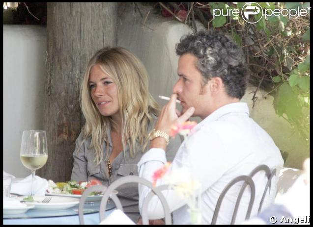 Balthazar Getty et Sienna Miller