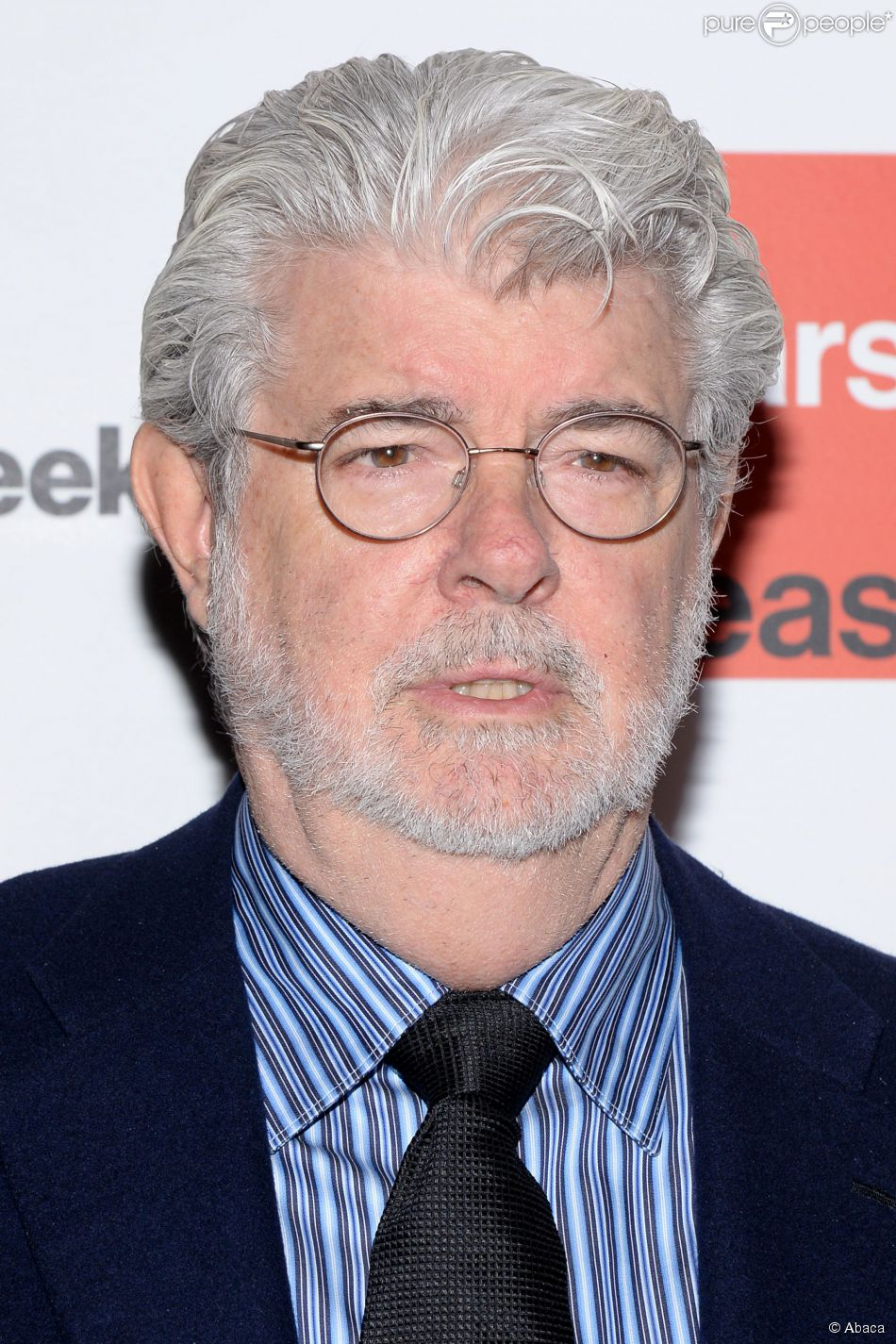 George Lucas à New York le 4 décembre 2014.