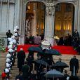 Illustration - Obsèques de la reine Fabiola de Belgique en la cathédrale des Saints Michel et Gudule à Bruxelles. Le 12 décembre 2014.