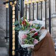 La dépouille mortelle de la Reine Fabiola de Belgique, visible au Palais Royal de Bruxelles, pour la population qui souhaite lui rendre un dernier hommage. Belgique, Bruxelles, 10 décembre 2014.