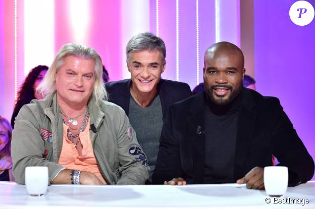 Exclusif - Philippe Lucas, Cyril Viguier et Jean-Marc Mormeck, sur le tournage de Talk Club le vendredi 12 décembre (pour une diffusion le dimanche 14 décembre sur NRJ12).