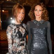 Zahia Dehar et Marisa Berenson, amoureuse : Sublimes pour une soirée d'exception