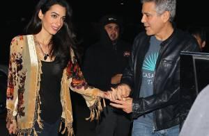 George Clooney : Étonnant mea culpa et sortie en amoureux avec Amal
