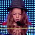 """Erza - """"La France a un incroyable talent 2015"""" sur M6. Mardi 16 décembre 2014."""