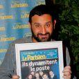 """Cyril Hanouna - Soirée de la 2ème édition """"Les étoiles du Parisien"""" à la Bellevilloise à Paris le 15 décembre 2014"""