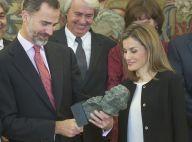 Letizia et Felipe d'Espagne : Charmés par un cadeau spécial cinéphiles...