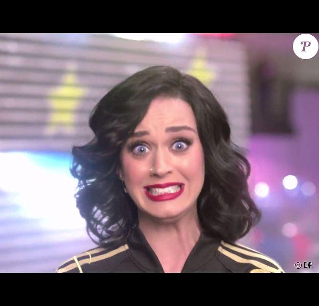 Katy Perry dans son centre d'essai des idées pour le show de la mi-temps du prochain Super Bowl du 1er février 2015