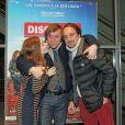 """Exclusif - Sarah Suco, Pascal Demolon et Louis-Julien Petit - L'équipe du film """"Discount"""" fait la promotion du film à Bordeaux, le 18 décembre 2014."""