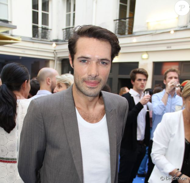 Nicolas Bedos - Opening party du BHV Marais section homme au BHV Marais à Paris, le 11 juin 2014.