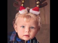 Fergie : Son fils Axl trop craquant pour les fêtes !