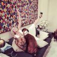 Chelsea Handler au lendemain du dernier numéro de son Chelsea Lately, le 27 août 2014 sur Instagram