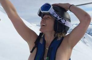 Chelsea Handler : Seins nus aux sports d'hiver, elle cherche... la bagarre