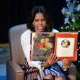 La First Lady Michelle Obama a lu un conte pour enfants, au Children's National Health System à Washington, le 15 décembre 2014