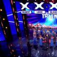 Le troupe Bloom Gospel Choir, dans Incroyable Talent 2015, le mardi 30 décembre 2014.