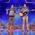 Dan et Flo, dans Incroyable Talent 2015, le mardi 30 décembre 2014.