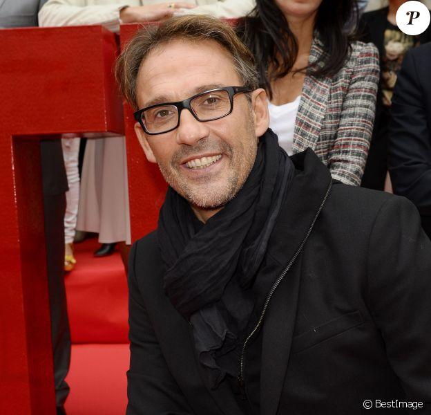 Julien Courbet - Conférence de rentrée de RTL à Paris. Le 4 septembre 2014.