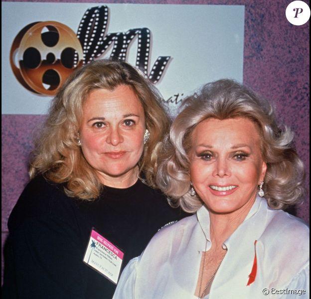 Francesca Hilton et Zsa Zsa Gabor à Las Vegas en 1993
