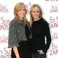 Toni Collette et Cameron Diaz à Madrid le 13 novembre 2005