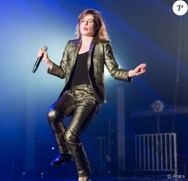 Christine And The Queens à Genève le 26 mars 2014.