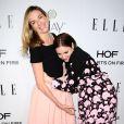 Molly McNearney et Lena Dunham au dîner Elle Women In Television Celebration organisé à Los Angeles, le 13 janvier 2015.