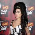 Amy Winehouse lors des Brit Awards 2007 le 14 février 2007