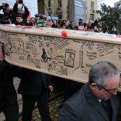 Obsèques de Tignous : Le vibrant hommage de son épouse et Christophe Alévêque